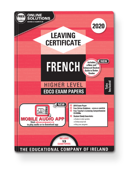 French Higher Past Papers + Audio App + Teacher CD-ROMs + Solutions