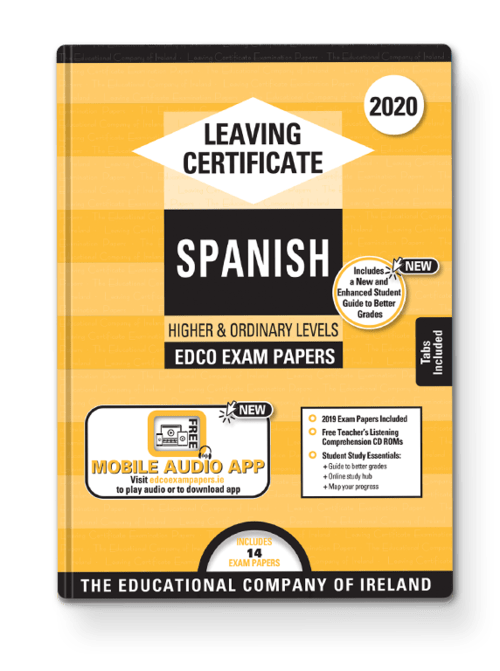 Spanish Ordinary & Higher Past Papers + Audio App + Teacher CD-ROMs