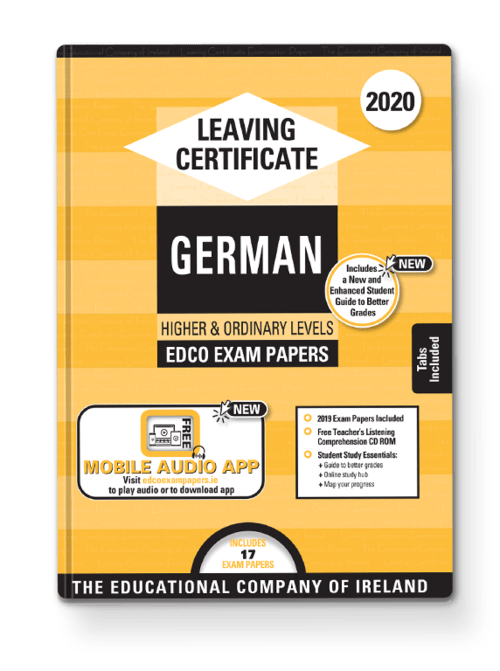 German Ordinary & Higher Past Papers + Audio App + Teacher CD-ROM