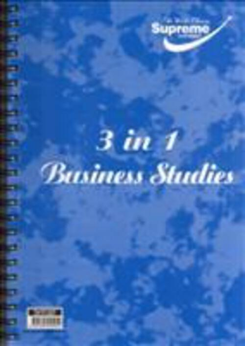 Business Studies 3 In 1 Spiral