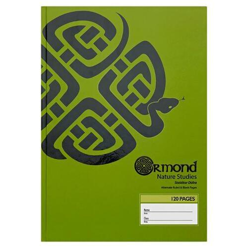 Ormond A4 120pg Hardcover Nature Study Book