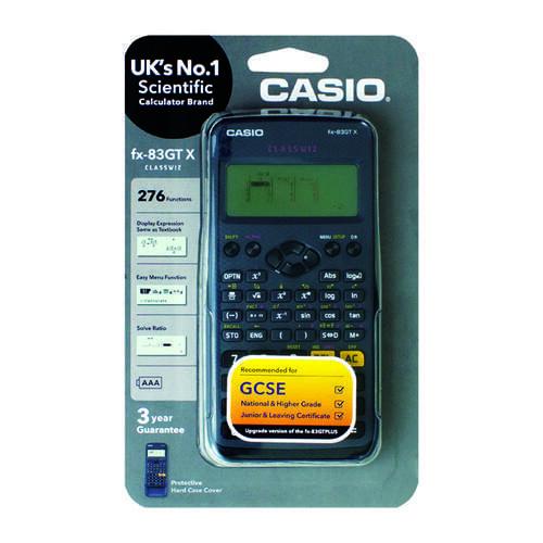 Casio Scientific Calc Fx-83Gtplus  Black