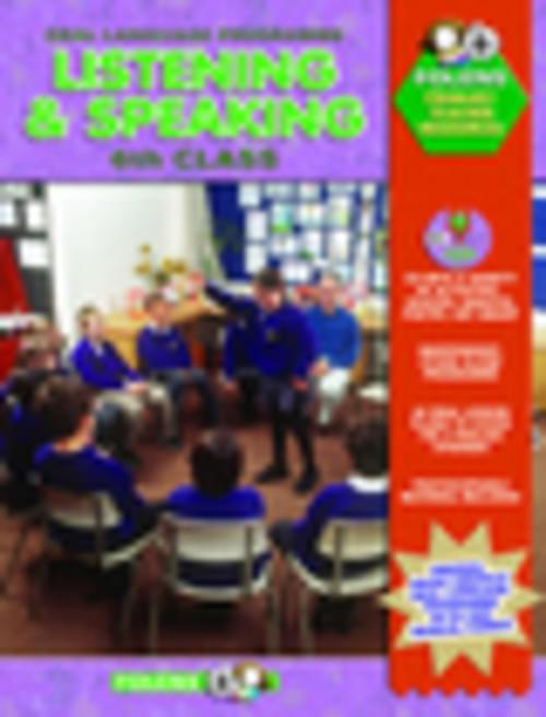 Listening & Speaking 6th Class (Book & CD)