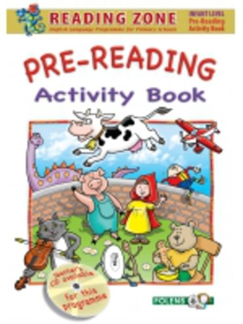 Reading Zone Pre-Reading Activity Book Folens