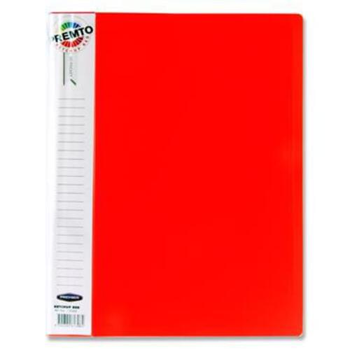 Premto A4 40 Pocket Display Book - Ketchup Red