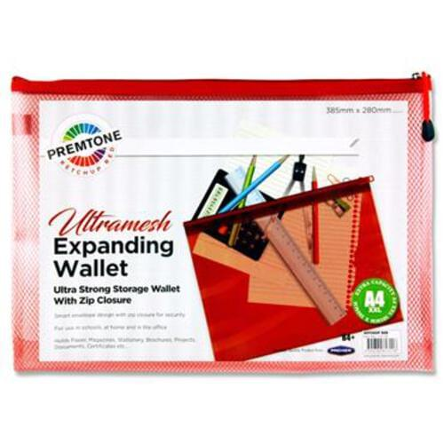 Premtone B4+ Ultramesh Expanding Wallet - Ketchup Red