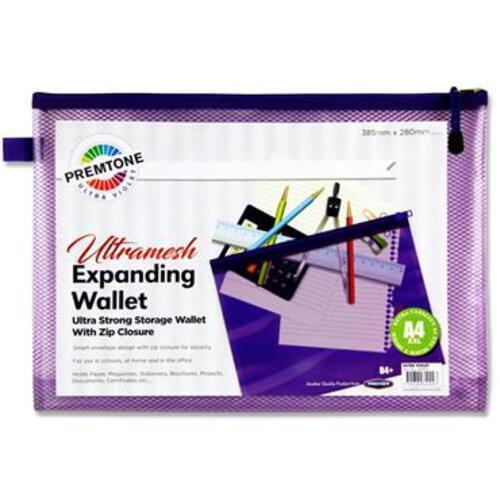 Premtone B4+ Ultramesh Expanding Wallet - Ultra Violet