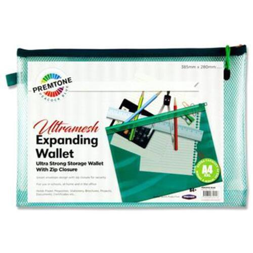 Premtone B4+ Ultramesh Expanding Wallet - Peacock Blue