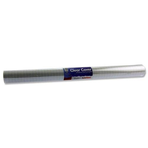 Student Solutions Clear Cover - 5m X 50cm