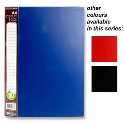 Premier Office A4 80 Pocket Display Book