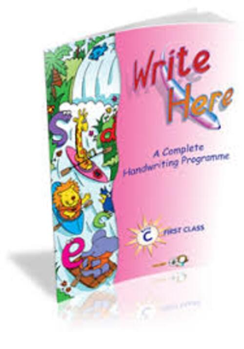 Write Here C - 1st Class Folens