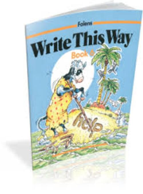 Write This Way 6 - 3rd-6th Class Folens