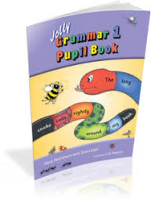 Jolly Grammar 1 Pupil Book for 1st Class