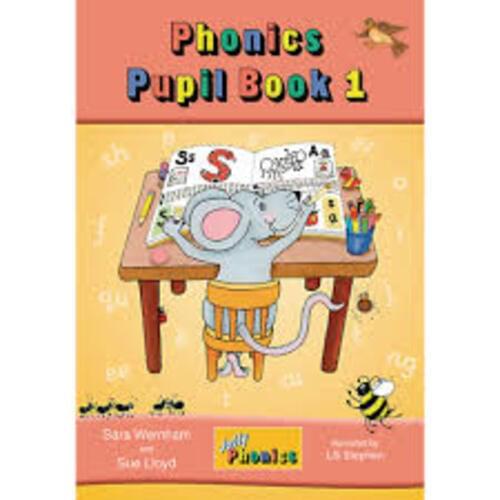 Jolly Phonics Pupil Book 1 Colour Edition - Junior Infants