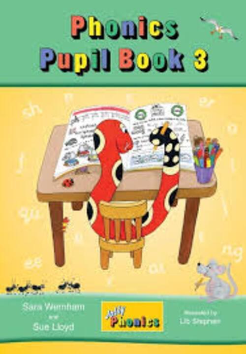 Jolly Phonics Pupil Book 3 Colour Edition - Senior Infants