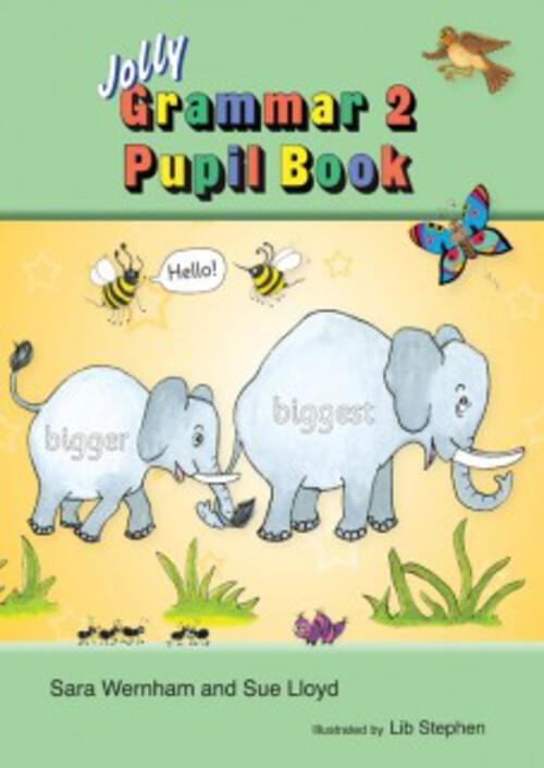 Jolly Grammar 2 Pupil Book for 2nd Class