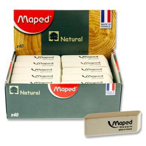 Maped Natural Eraser - Regular