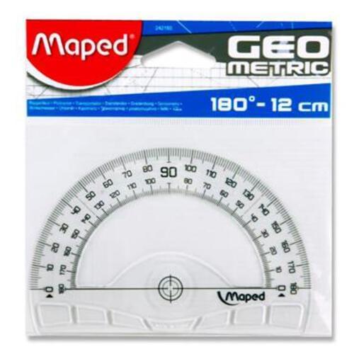 Maped Geometric 12Cm/180 Protractor