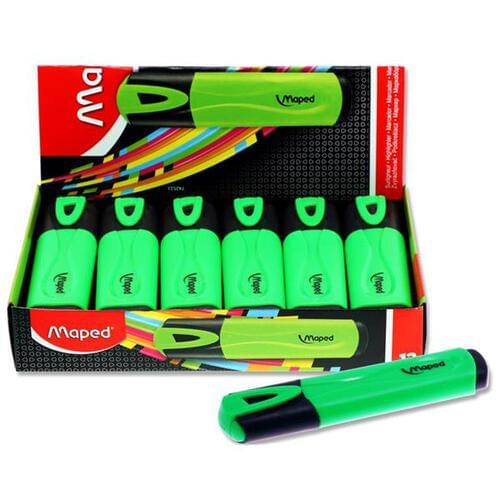 Maped Fluo'peps Classic Highlighter - Green