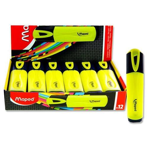 Maped Fluo'peps Classic Highlighter - Yellow