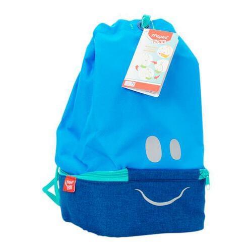 Maped Picnik Concept Kids Figurative Lunch Bag - Blue