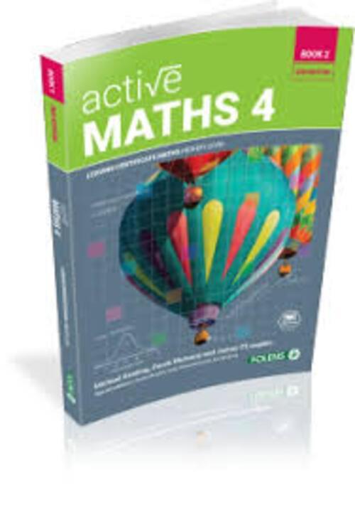 Active Maths 4 Book 2 - Higher Level (2nd Edition)