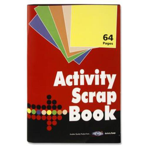 Premier Activity 64Pg 340X235Mm Scrapbook
