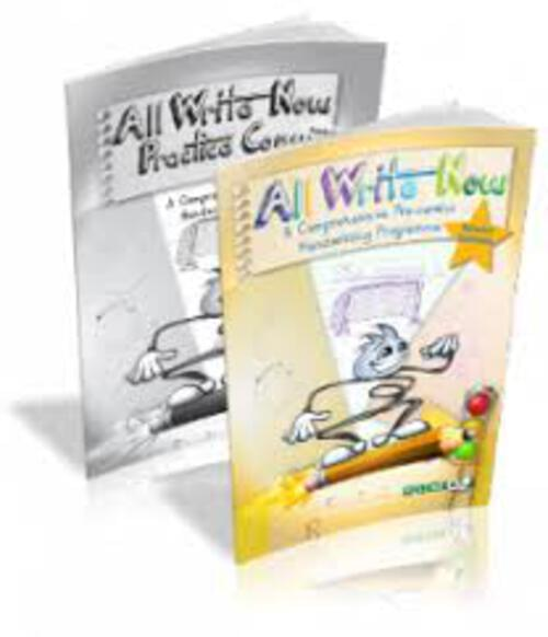 All Write Now Senior Infants Pre-Cursive Set
