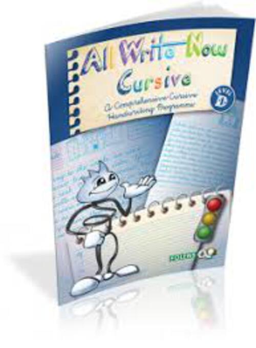 All Write Now Cursive Book D Folens