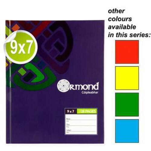 Ormond 9X7 128Pg Hardcover Book
