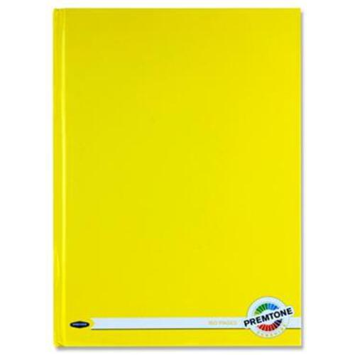 Premto A4 160Pg Hardcover Notebook - Sunshine