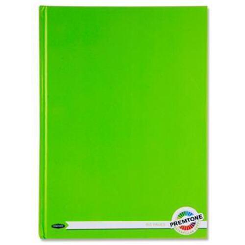 Premto A4 160Pg Hardcover Notebook - Caterpillar Green