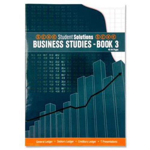 Student Solutions A4 40Pg Business Studies - Book 3