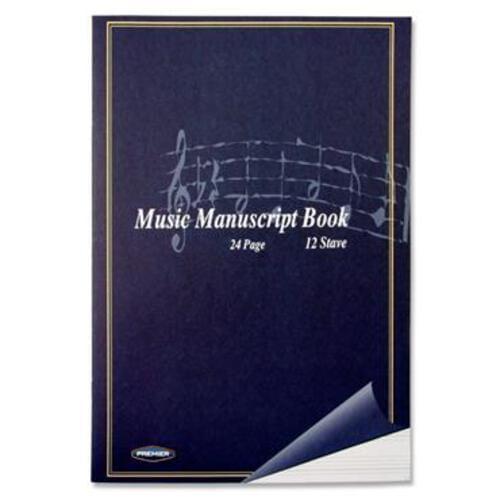 Stave 12 Music Manuscript 24 Page