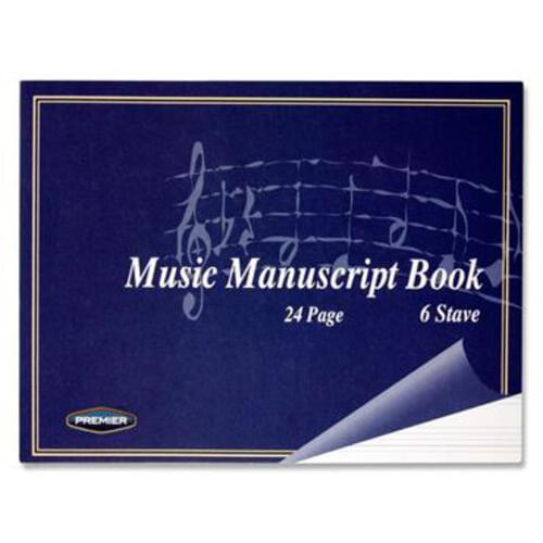 Stave 6 Music Manuscript 24 Page