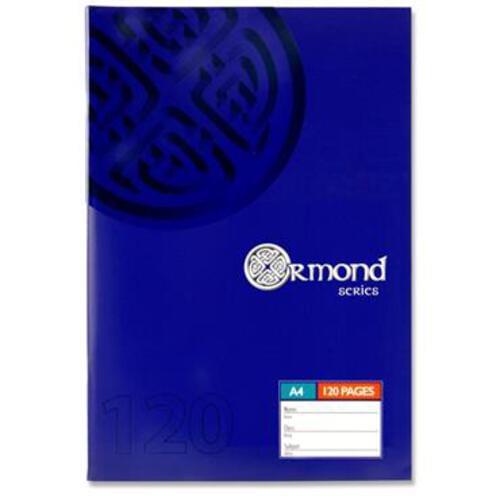 Ormond A4 120Pg Soft Cover Manuscript Book