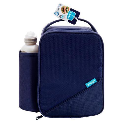 Smash Basic Lunch Bag & 500ml Bottle 2 Asst.