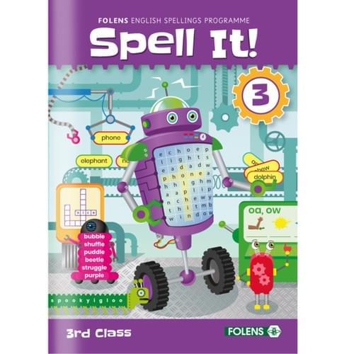 Spell It! (2020) 3rd Class Workbook