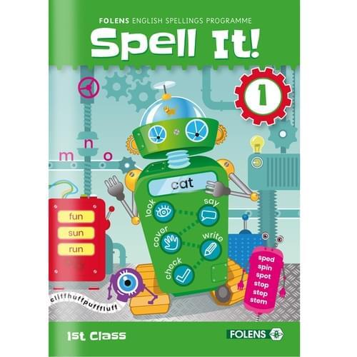 Spell It! (2020) 1st Class Workbook