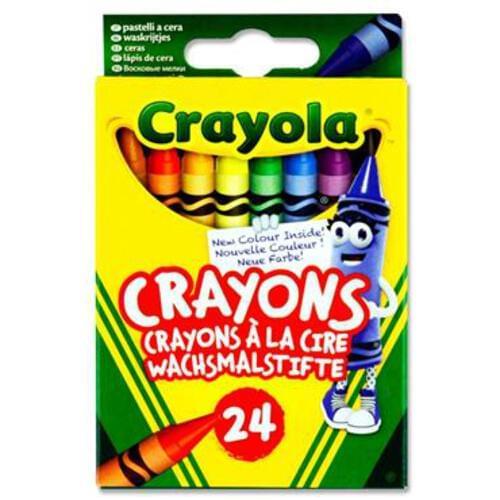 Crayola Box 24 Crayons
