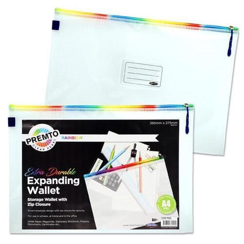 Premier Office B4+ Extra Durable Mesh Wallet - Rainbow