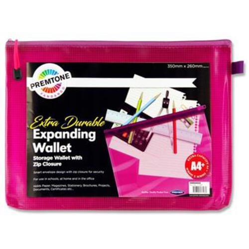 Premto A4+ Extra Durable Mesh Storage Wallet - Fandango