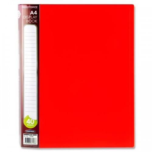 Premier Office A4 40 Pocket Display Book