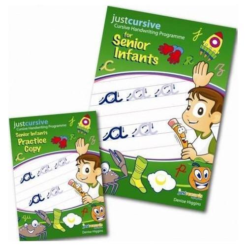 Just Cursive Handwriting Senior Infants (Book and Copy)