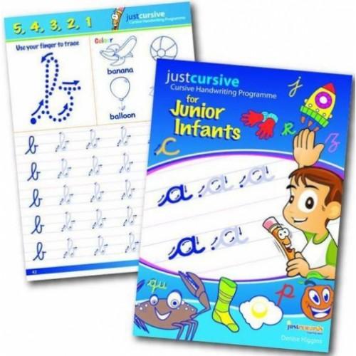 Just Cursive Handwriting Junior Infants (Book and Copy)