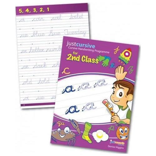 Just Cursive Handwriting 2nd Class