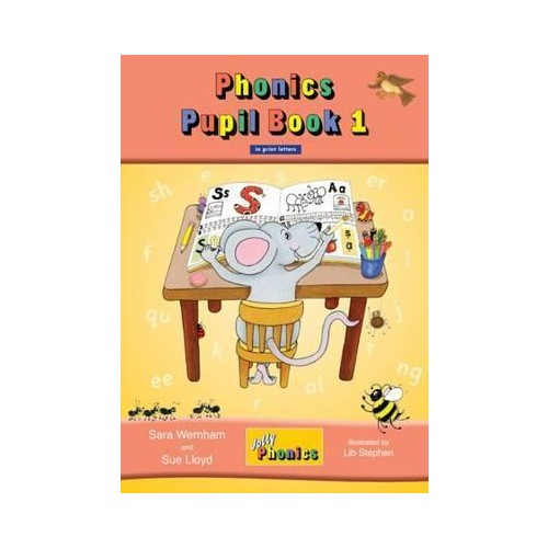 Jolly Phonics Pupil Book 1 - IN PRINT LETTERS