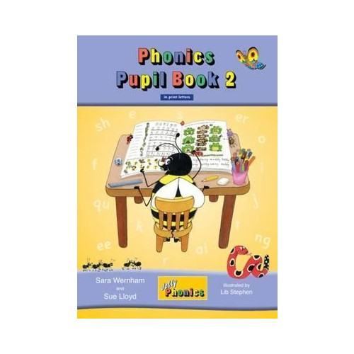 Jolly Phonics Pupil Book 2 Colour Edition IN PRINT - Senior Infants