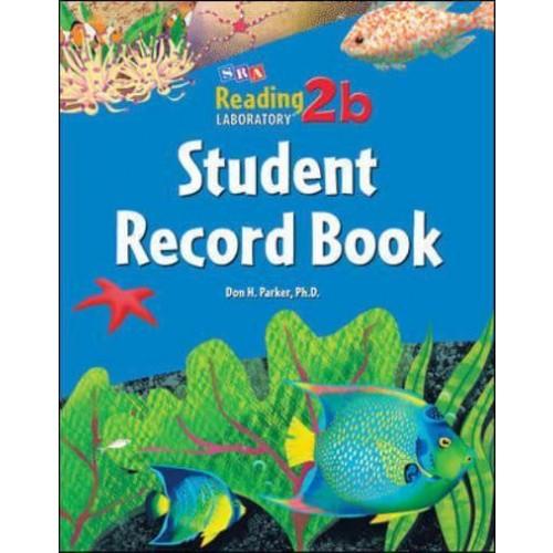 Reading Lab Student record 2B