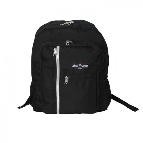 Sporthouse Secondary School Bag Black 42 Litre